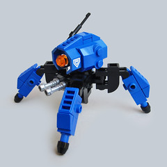Tattaka vX - Assault Runner (Fredoichi) Tags: robot lego space military walker micro mecha mech multiped microscale fredoichi