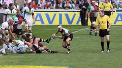 IMG_9300 (andys1616) Tags: northampton rugby may saints stoop aviva 2012 premiership twickenham quins semifinal playoff harlequins rugbyunion