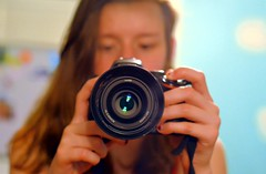 click? (allison.johnston) Tags: camera me self lens 50mm mirror odc 50mmnikon ourdailychallenge