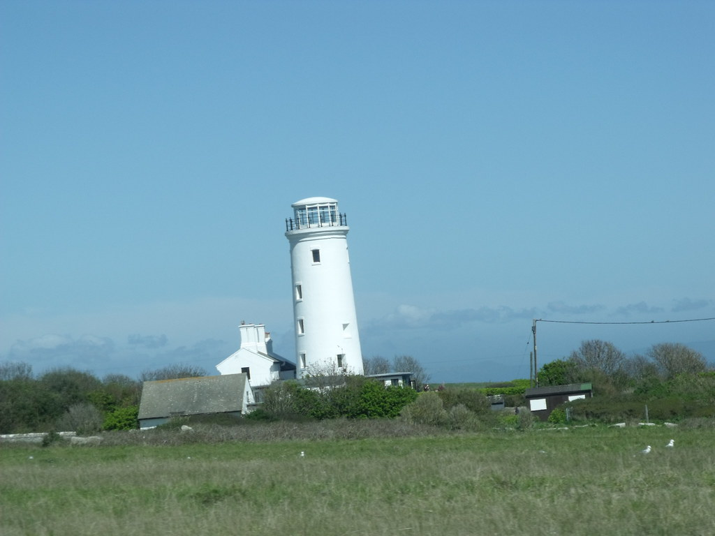Isle of Portland - drive to Portland Bill - The Old Lower Lighthouse