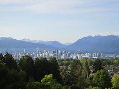 IMG_0028 (Sweet One) Tags: city canada mountains vancouver day bc view britishcolumbia queenelizabethpark pwpartlycloudy