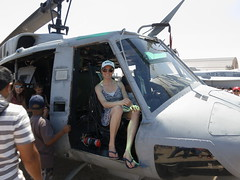In the pilots seat (Bardsworld) Tags: uh1 jointservciesairshow