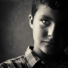 Retrat de nen (QuimVD) Tags: miradafavorita
