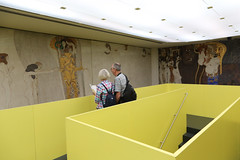 photoset: secession: Beethoven Frieze - Rockenschaub / Claerbout / Slavs & Tartars / Dillemuth (3.5.-17.6.2012)