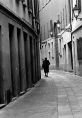 Strada (Marco Borghi) Tags: architecture canon blackwhite architettura biancoenero reggioemilia canoneos3 pellicola analogico cameraoscura canon24105f4l rullino marcoborghi