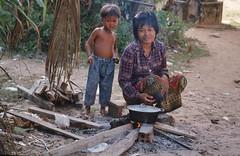 Siem Reap - Food preaparing (sharko333) Tags: street boy people food woman cambodge cambodia kambodscha khmer siemreap