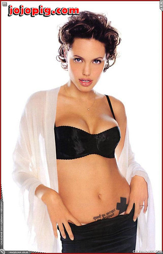 and hot sexy jolie Angelina