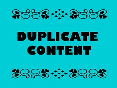 Buzzword Bingo: Duplicate Content