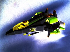 F - 6 Hawk (color edit) (SuperHardcoreDave) Tags: color lego tech space future scifi spaceship weapons edit starship moc starfighter spacefighter