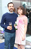 David Wall & Aisling Farinella pictured at the launch of the Peroni Pop Up Boutique on Castle Market Street Dublin. Photo: Anthony Woods
