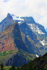 Going to the Sun Mountain (grimeshome) Tags: mountain mountains nature peak glaciernationalpark wilderness peaks goingtothesunmountain mountainpeak
