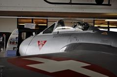De Havilland DH 100 Vampire (Sbastien Locatelli) Tags: de nikon suisse vampire swiss aviation air muse dh planes 100 1855mm base vr forces afs dx avions payerne arienne luftwaffe havilland d5000 clindailes