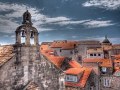 Dubrovnic Church & Roofs (paul.lomas10) Tags: city outdoors outdoor roofs walls dubrovnic tonemapped hdroutput