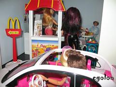 Mc Donald's 6 (egolon) Tags: restaurant dolls barbie mcdonalds playset