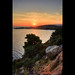 Catching up the sunset at Sithonia, Greece