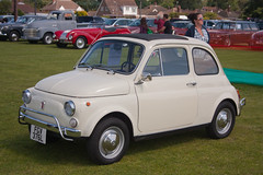 1972 Fiat 500 (Trigger's Retro Road Tests!) Tags: show classic car june fiat vehicle 500 1972 essex 2012 lawford revival manningtree