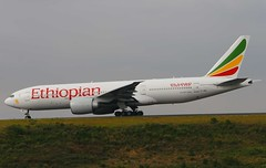 Ethiopian Boeing 777-260(LR) ET-ANO (Fasil Avgeek (Global Planespotter)) Tags: airplane airport aircraft aviation air jet add valley 200 boeing airways airlines 777 airliner lr etano ethiopian rift bole