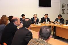Reunião com Presidentes Câmara e Dirigentes PSD Faro
