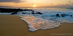 Ke Iki Sunset (j . f o o j) Tags: hawaii oahu northshore keikis keikibeach