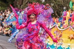 Festival of Fantasy - Coral (Allen Castillo) Tags: orlando florida disney parade wdw waltdisneyworld themepark magickingdom littlemermaid nikon28300 nikond610 festivaloffantasy