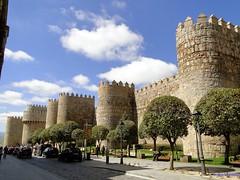 vila (santiagolopezpastor) Tags: wall medieval walls romanesque middleages muralla castilla vila alczar castillaylen murallas romnico provinciadevila