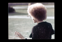 ss23-68 (ndpa / s. lundeen, archivist) Tags: people woman color film boston massachusetts afro nick slide slideshow mass 1970s curlyhair youngwoman bostonians bostonian dewolf early1970s nickdewolf photographbynickdewolf slideshow23