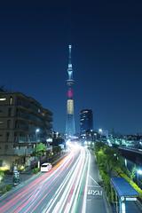 P5220474 (Zengame) Tags: tower japan architecture night pen tokyo belgium illumination landmark olympus illuminated jp   belgian zuiko  penf     skytree   tokyoskytree  mzuiko 12mmf20 mzuikodigitaled12mmf20 livecomposite