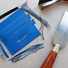 Our wallet pre-stitched (Vertstone) Tags: england 6 fashion handmade wallet alligator lizard ostrich luxury iphone cardholder vertstone
