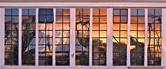 Maritiem Hoorn Reflected Sunrise (joiseyshowaa) Tags: morning blue windows sunset orange sun haven building netherlands colors silhouette set architecture hoorn sunrise dawn evening harbor store dusk front maritime rise nederlands schemer dageraad bezinning
