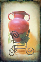Grecian Urn (Jo-Back To The 80's Again!) Tags: urn az clay grecian alphabetgame theflickrlounge