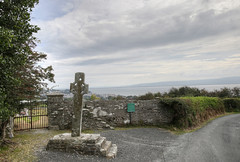 Cooley Cross (backpackphotography) Tags: ireland cross monastery monolith hdr donegal cooley moville highcross loughfoyle skullhouse backpackphotography cooleycross