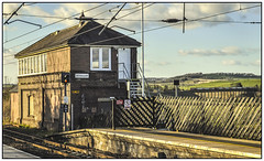Alnmouth Box (Jim the Joker) Tags: train railway viaduct alnmouth signalbox hst virgintrains eastcoastmainline highspeedtrain ecml
