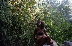 K (Camila Scarinci) Tags: green film beach girl beauty canon costarica waterfalls latinoamerica centroamerica blackgirls uvita