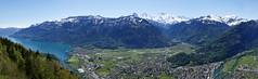 Eiger Mnch Jungfrau Interlaken Brienzersee Berner Oberland Switzerland (roli_b) Tags: eigeer mnch moench monch jungfrau interlaken brienzersee lake brienz region berner oberland berneroberland mountain mountains berge berg montaas alps alpen bergpanorama panorama panoramic view vista switzerland schweiz suisse svizzera suiza