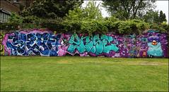 Sleaf / Wrist / 2Rise / Spzero76 / Squirl-art (Alex Ellison) Tags: urban graffiti ic boobs wrist graff gw eastlondon ghostwriters sleaf tworise 2rise sleafer ukmeetingofstyles2016