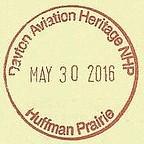 DAYTON AVIATION HERITAGE NHP Huffman Prairie (colinLmiller) Tags: nps center souvenir passport nationalparkservice rubberstamp cancel interpretive nationalparkpassportstamp huffmanprairieairfield