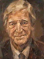 Michael Parkinson, 2010 // by Jonathan Yeo (mike catalonian) Tags: uk portrait male face painting 2010 jonathanyeo