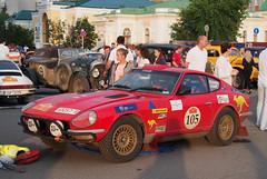 1973 - Datsun 240Z (Jasonito) Tags: paris classic car russia rally olympus retro oldtimer motor  omsk challenge peking 6th omd the 2016    em5   parispeking beijingparis   panasonic14140mmf4058 omdem5