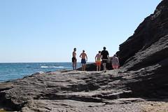 A Dip In The Sea (Parklife) Tags: sea seafront beach coast lamanga cala del barco landscape
