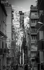 moving stairs in 'the wild' (stralsunnerjunge) Tags: barcelona city architecture town spain nikon architektur nikkor catalan d90 18105vr