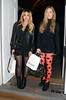 Zara Martin And Laura Whitmore, at the Risque Business launch party of Emilio Cavallini at Sketch - Departures. London, England