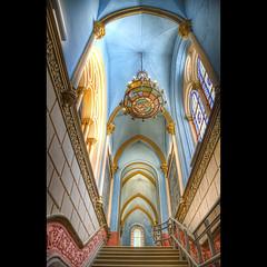 Santuari de Nuria (christian&alicia) Tags: church architecture arquitectura nikon sigma catalonia nuria catalunya 18200 hdr pyrenees pirineo pirineu catalogne esglesia d90 santuari christianalicia