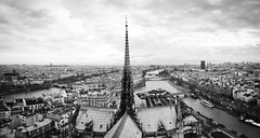 _MG_9520 Panorama (Flo Photo) Tags: city roof bw paris skyline architecture photo notre dame scape toit flo fleo