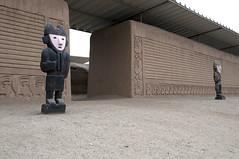 Porta di accesso al secondo livello dal Cortile Cerimoniale di Chan Chan (recondoontheroad) Tags: libertad la per chan provincia trujillo citt