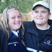Gianna Pendleton of Analy FFA and Davis Crawford of Forestville FFAHappy Volunteers