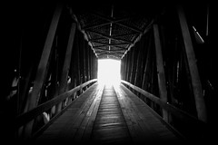 The Light at the End of the Tunnel (Nux Pix (Beauty in the World Around You)) Tags: mill rural historic missouri coveredbridge watermill flourmill southernmissouri bollinger burfordville ruralmissouri bollingermill capegirardeaucounty