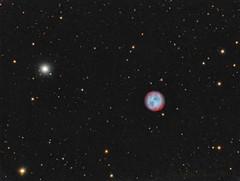 Owl nebula, Messier 97 (Mickut) Tags: m97 planetarynebula owlnebula Astrometrydotnet:status=solved messier97 Astrometrydotnet:version=14400 komakallio sxvrh18 Astrometrydotnet:id=alpha20120423267137