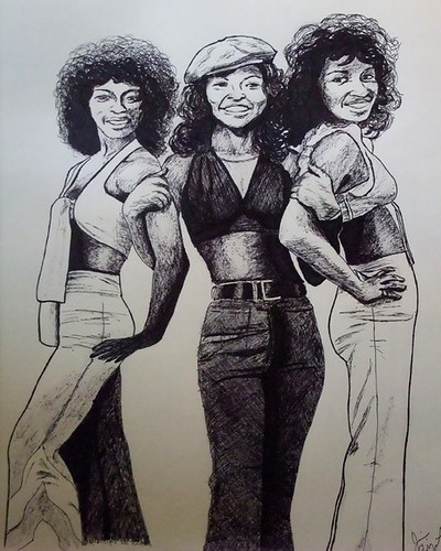 The sexy and soulful group The Three Degrees