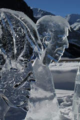 Lake Louise Ice Carving (Richard_Carter) Tags: sculpture ice competition carving lakelouise icemagic rpcoakwood