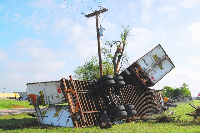 Lancaster Tx Tornado Aftermath Photo #1